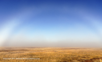 Click to see an image of a fogbow in the Lower Geyser Basin.