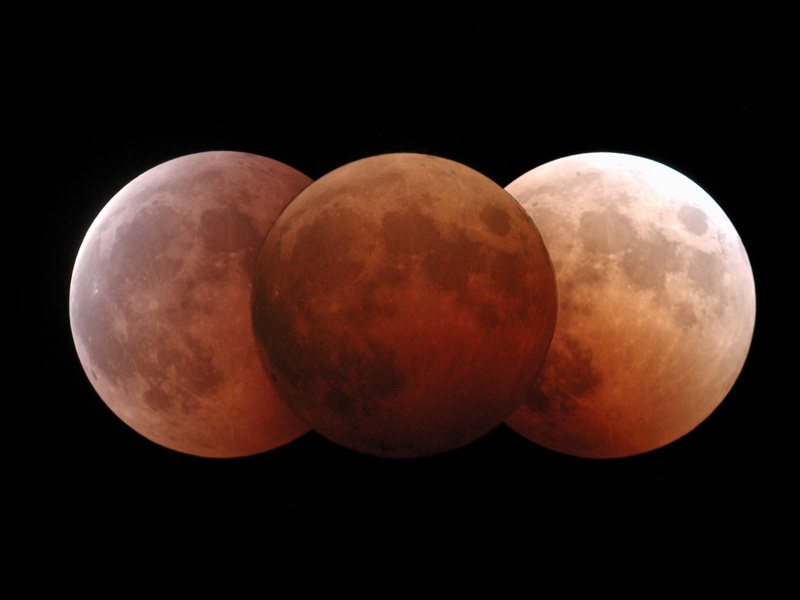 Lunar Eclipse - October 28, 2004.