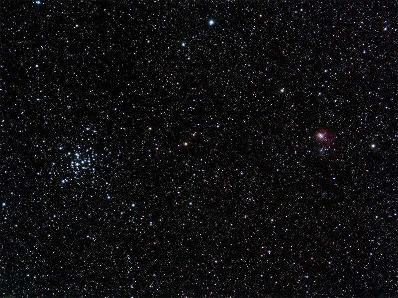 M36 and NGC1931 Open Clusters