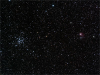 Click to see an image of M36 and NGC1931.