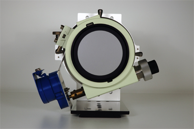 Back view of a RoboFocus attached to a FSQ106ED showing rotational problem.