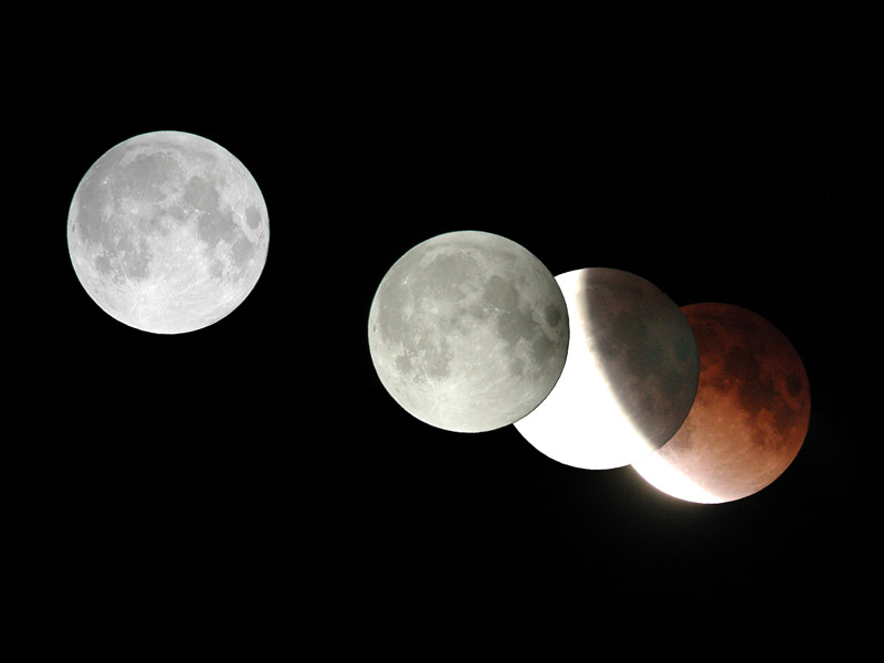 Lunar Eclipse - November 09, 2003.