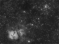 Click to see an image of M20 and M21.