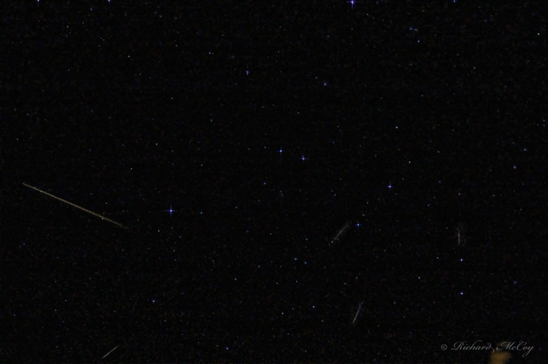 Image of the 2009 Quadrantid Meteor Shower.