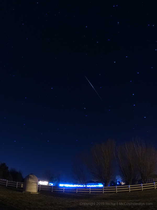 Quadrantid Meteor Shower - January 2019