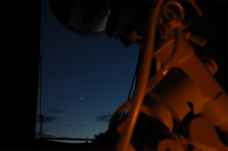 Venus and Saturn<br />June 30, 2007